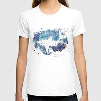 shark T-shirts featuring Shark by Vanishing Fin