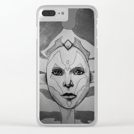 Sith babe II Clear iPhone Case