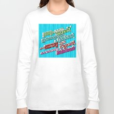 Malayalam Hymn (3D - multiple colors) Long Sleeve T-shirt