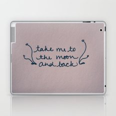 To The Moon Laptop & iPad Skin