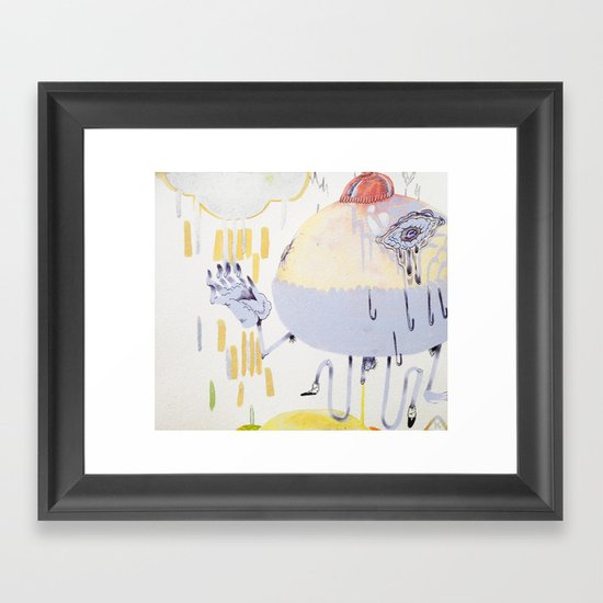 cyclical Framed Art Print