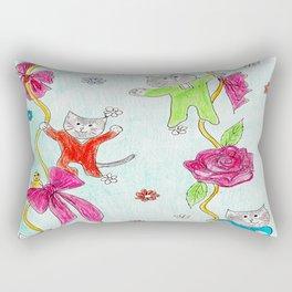 Cats Pajama Party Rectangular Pillow