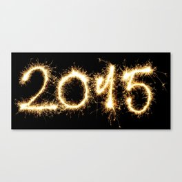 2015 new year Canvas Print