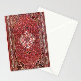Bijar Kurdistan Northwest Persian Rug Print Stationery Cards
