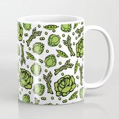 Green Vegetables Mug