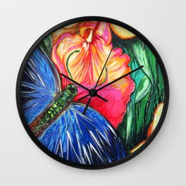 Butterfly Life Wall Clock