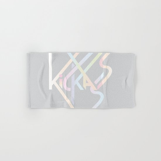 Kickass Hand & Bath Towel
