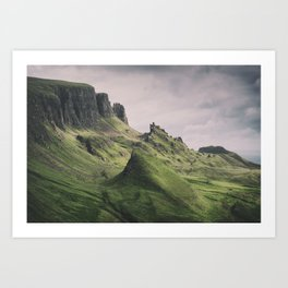 The Majesty of the Quiraing Art Print
