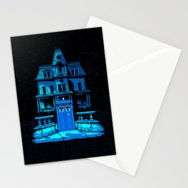 Tardis Horror Castle Stationery Cards