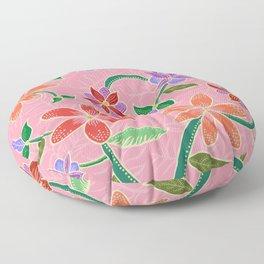 Pink Batik Floor Pillow