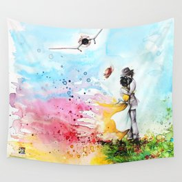 """By the cliff"" Wall Tapestry"