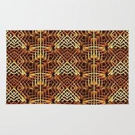 Yes, Another Gold Pattern Rug