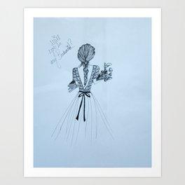 Bridesmaid Art Print