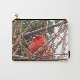 Chilly Cardinal 2 Carry-All Pouch