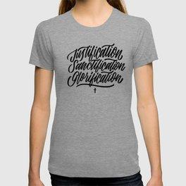 Justification - Sanctification - Glorification T-shirt