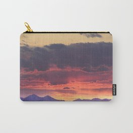 Crazy Mountain Sunset Carry-All Pouch