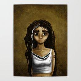Princesa Azteca Poster