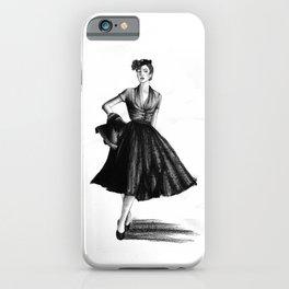 Fashion 1950 iPhone Case