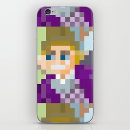 Gene Wilder Pixel Art iPhone Skin