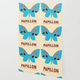Papillon, Steve McQueen vintage movie poster, retrò playbill, Dustin Hoffman, hollywood film Wallpaper