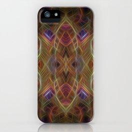 Journey To The Centre Of A Thoughtwave iPhone Case