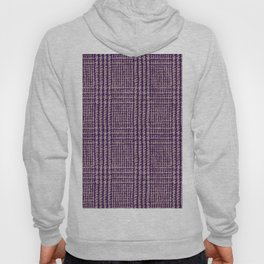 Purple plaid pattern Hoody