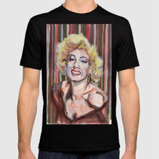 Marilyn Monroe 2 Mens Fitted Tee MEDIUM Black