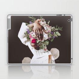 Pink Shy - Digital Collage Laptop & iPad Skin