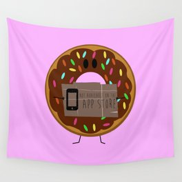 Not available on the app store: donut Wall Tapestry