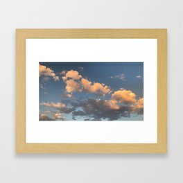 Tahoe Skies Framed Art Print