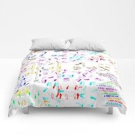 Disco Duck Comforters