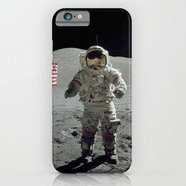 Apollo 17 - Last Man On The Moon iPhone Case