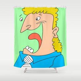 Hehehaha! Shower Curtain