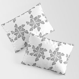 Butterfly Mandalas Pillow Sham