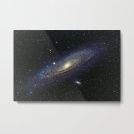 The Andromeda Galaxy Metal Print