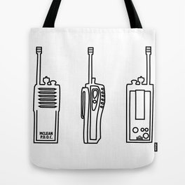 P.D.O.C Walkie Talkie Original Tote Bag