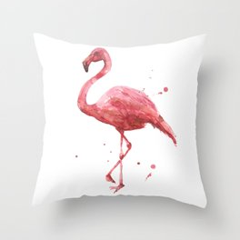 Coral Chic Throw Pillow