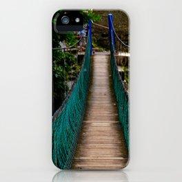 Swinging Bridge -Guam iPhone Case