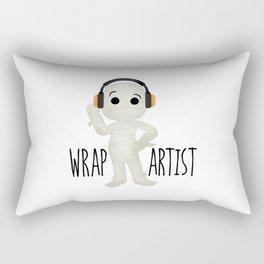Wrap Artist | Mummy Rectangular Pillow