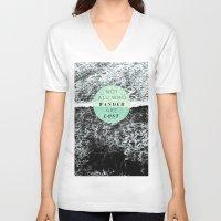 wander V-neck T-shirts featuring Wander by Rachel Kim Freelance Design