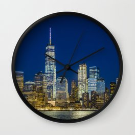 Lower Manhattan, New York 1 Wall Clock