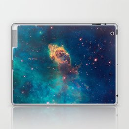 Space Nebula, A View of Astronomy, Stars, Galaxy, and Outer space  Laptop & iPad Skin