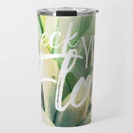 Check Your Flow Travel Mug