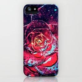Dew on petals iPhone Case