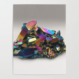 Titanium Rainbow Aura Quartz 1 Poster