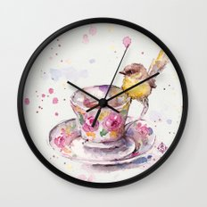 There is always time for tea Wall Clock