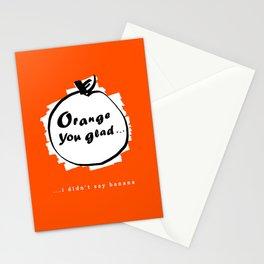 Punny Fruit Stationery Cards