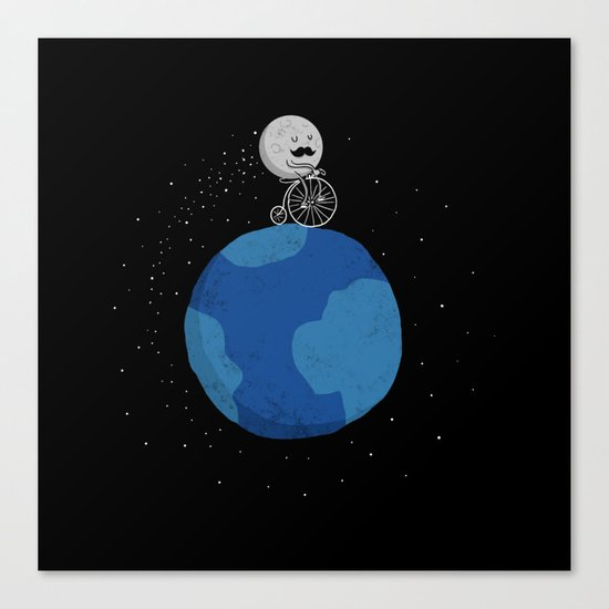Moon Cycle Canvas Print