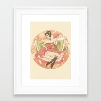victorian Framed Art Prints featuring Victorian by Megan Jeffs