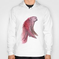 birdy Hoodies featuring birdy! by gasponce